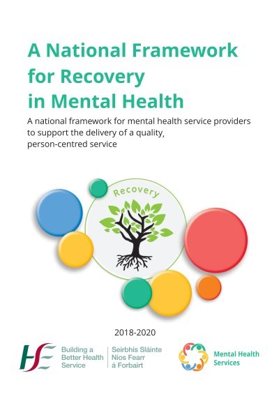 National Framework for Recovery in Mental Health Services Cover