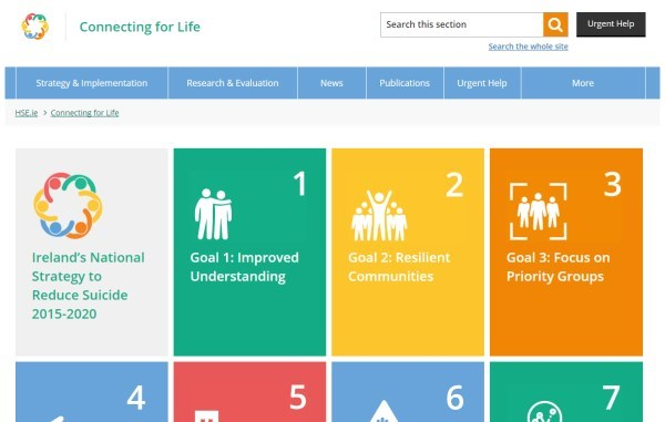 Connectingforlifeireland Homepage