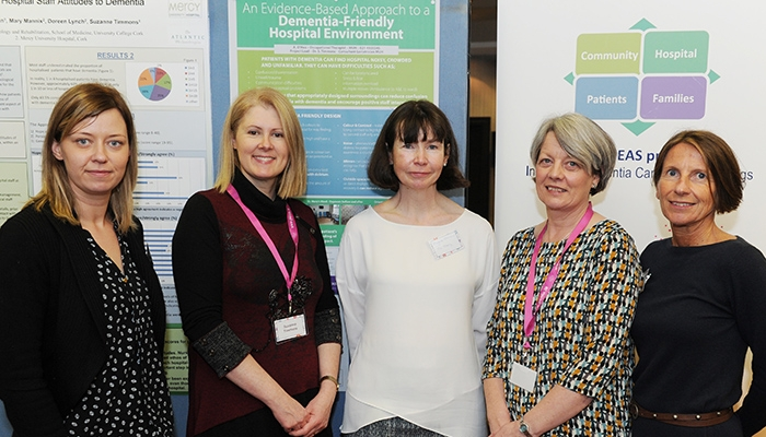 Photo-L-R-Anne-O'Hea-Dr-Suzanne-Timmons-Margaret-McKiernan-Mary-Mannix-and-Siobhan-Cahill-Cork-IDEAS-project-