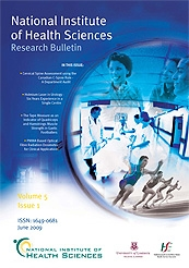 Bulletin Cover June 2009