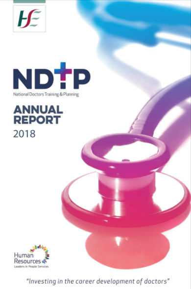 NDTP Annual Report 2018 Cover