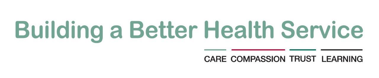Building a Better Health Service values logo