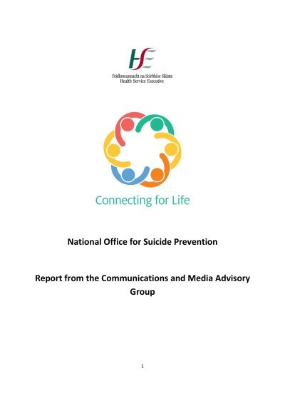 Connecting for Life - Communications Media Advisory Group