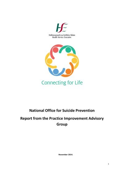 Connecting for Life - Practice Improvement Advisory Group