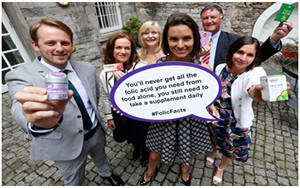 (L-R) Mr Tom Scott, Spina Bifda Hydrocephalus Ireland, Dr Rhona Mahony, National Maternity Hospital, Dr Cliodhna Foley-Nolan, safefood, Ms Alison Canavan, Prof Michael Turner, UCD, Coombe Women and Infants University Hospital, Dr Aileen McGloin, safefood